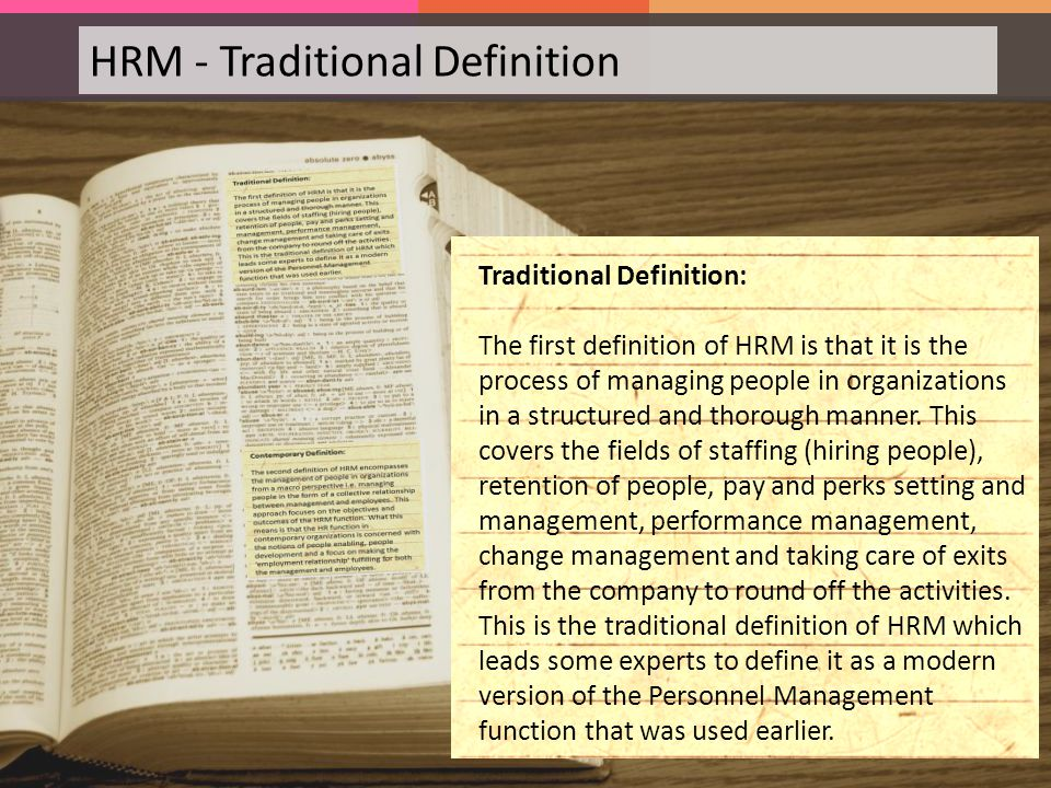 Introduction to Human Resource Management - ppt download