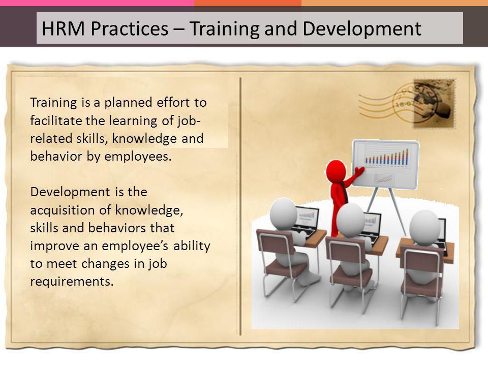 hrm management practices Managerial competence: technical skills, leadership skills, knowledge specific to  the  which shows that hrm practices should be aligned with company goals.