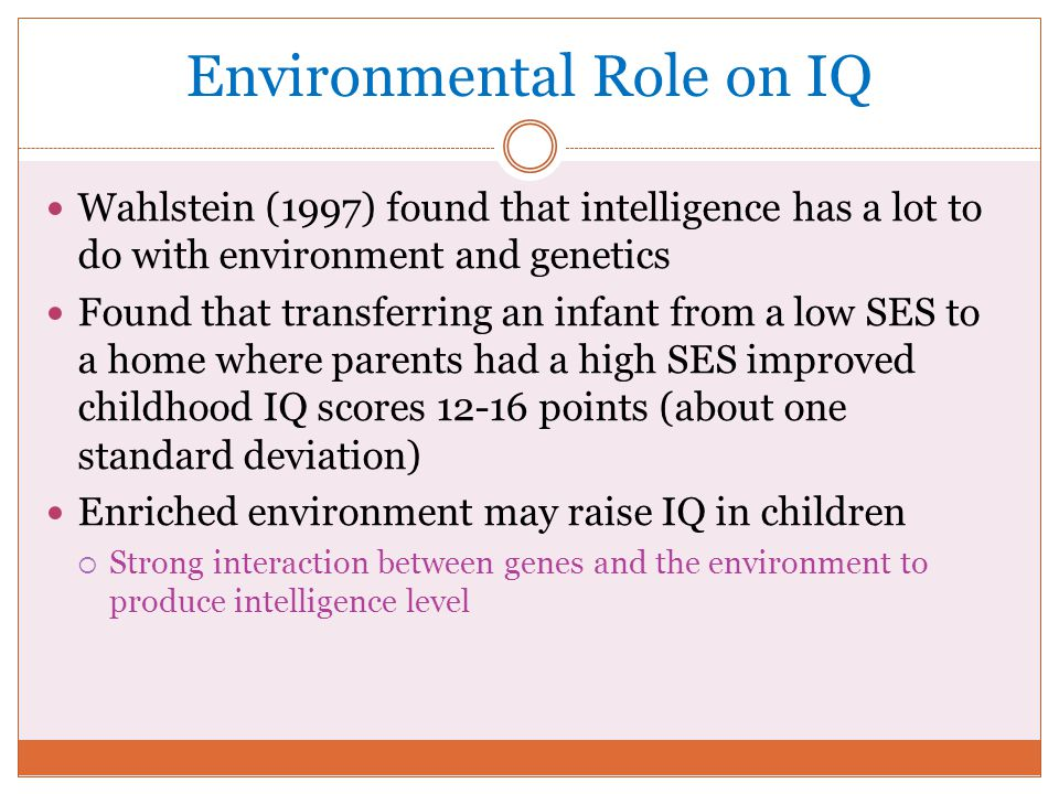 an analysis of the purpose of intelligence tests in children Factor analysis spearman, using an earlier approach to factor analysis, found that scores on all mental tests (regardless of the domain or how it was tested) tend to load on one major factor spearman suggested  for children (wisc), an intelligence test for preschoolers 28 wais.