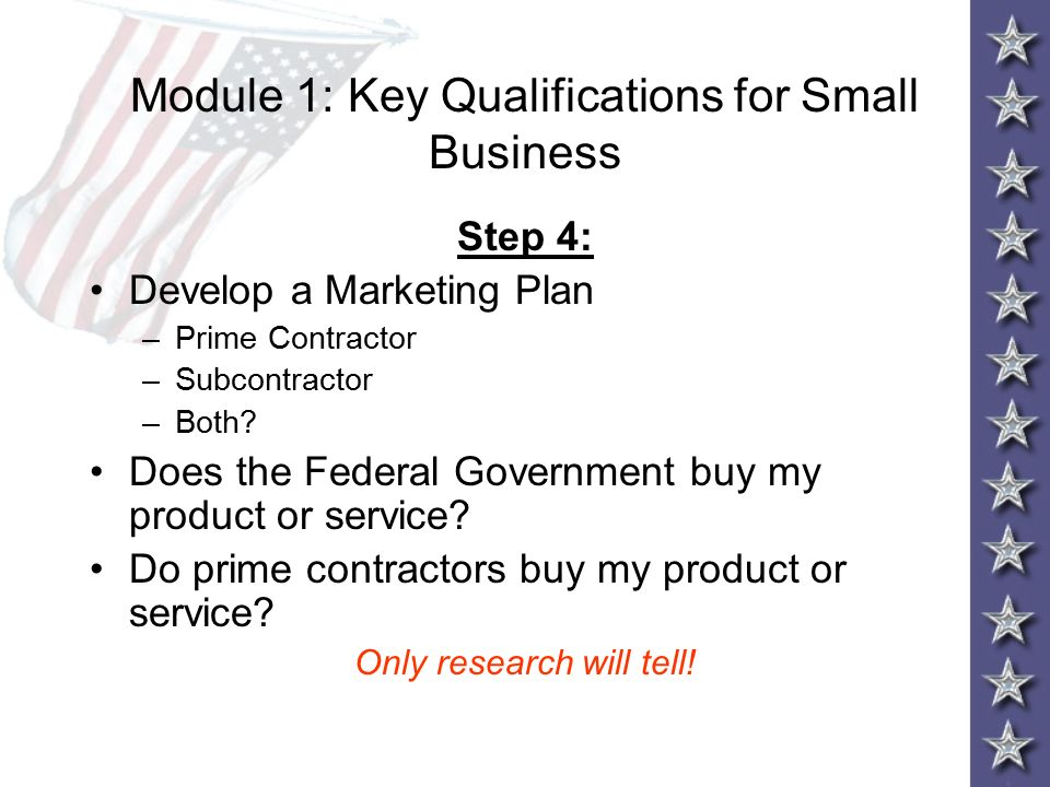 The matchmaker s small business training ppt download for My contractors plan