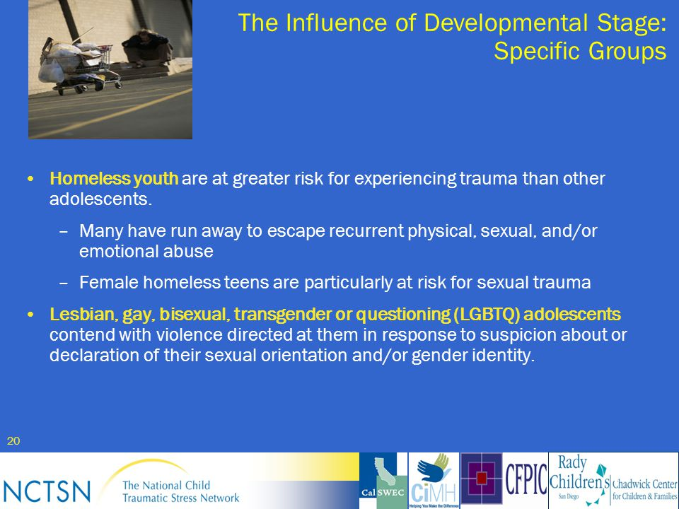 stages of homosexuality in adolescence Gay, lesbian and bisexual adolescents  homosexuality is the persistent sexual and emotional attraction to someone of the same sex  and tasks during adolescence.