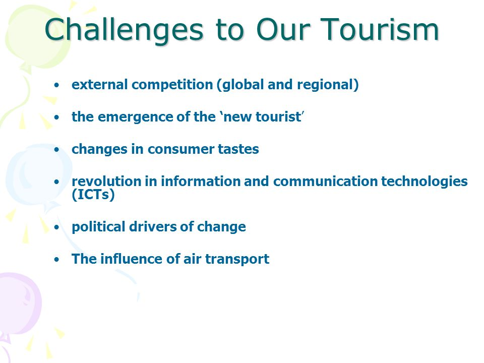 Benefits and Challenges of Tourism - ppt video online download