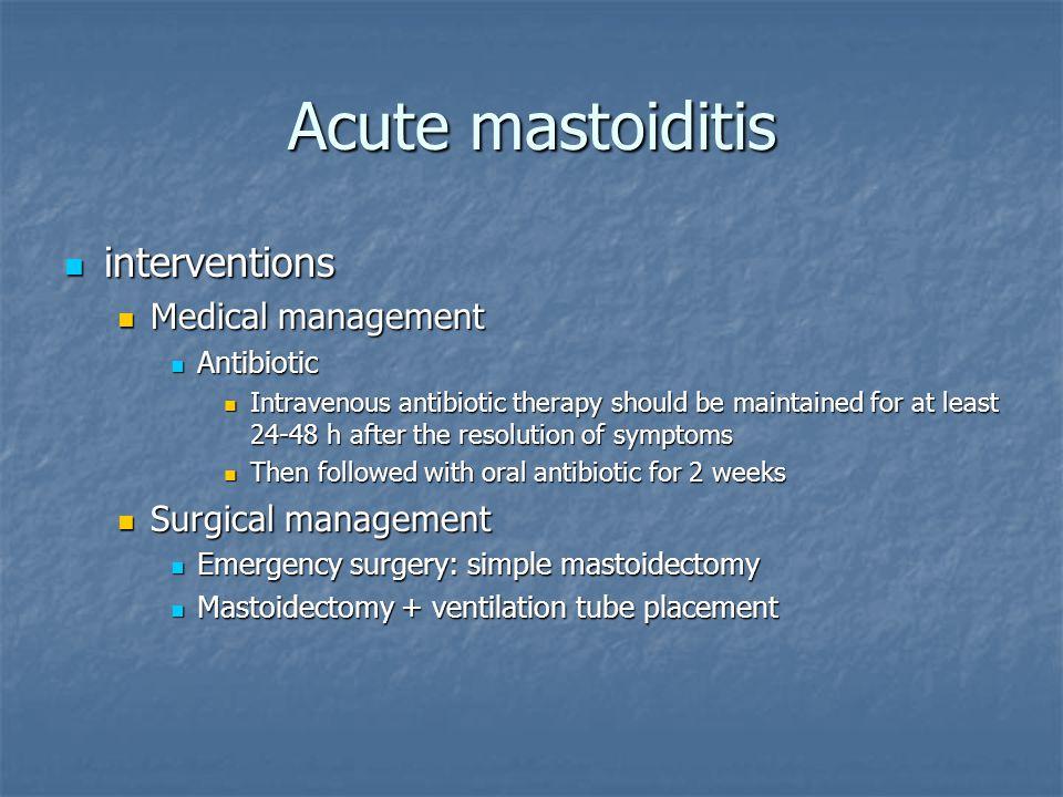 Acute Otitis Media And Mastoiditis Ppt Video Online Download