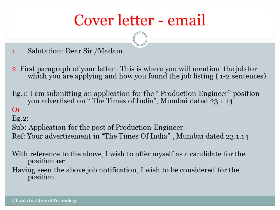 sir or madam cover letters