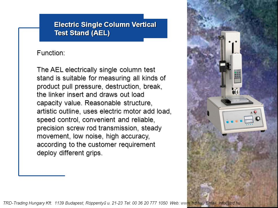 T rd tripod catalog before you move forward you must for Electric motor load testing equipment