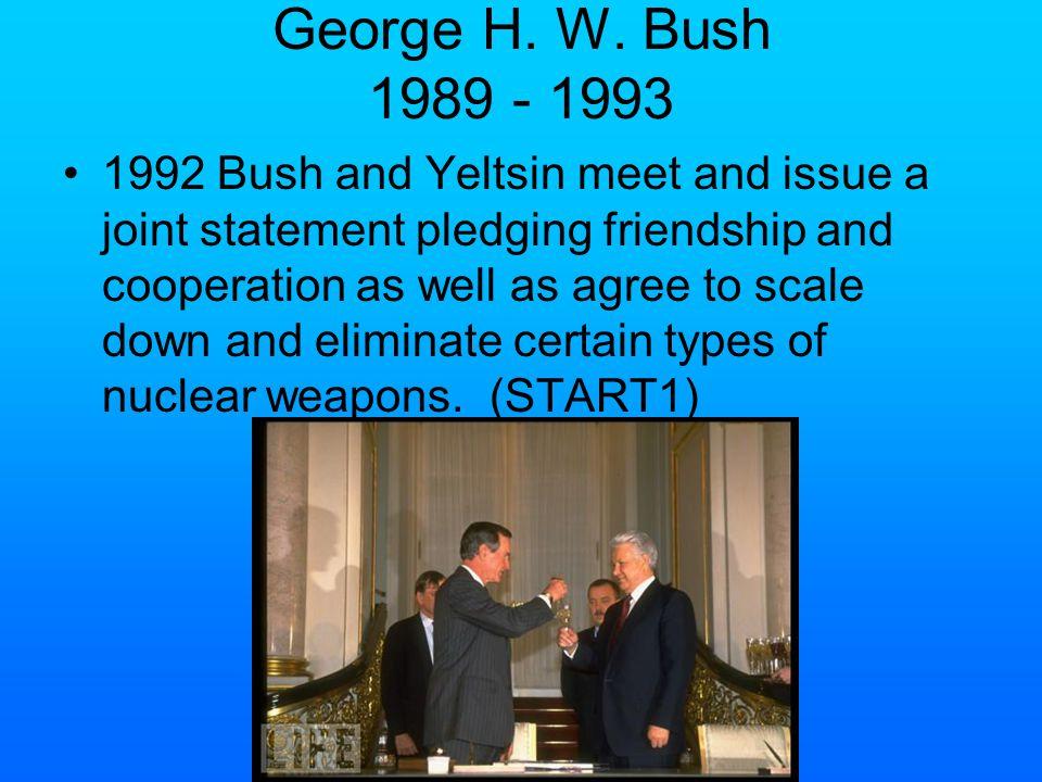 Late Cold War Events Nixon Ford Carter Reagan Bush