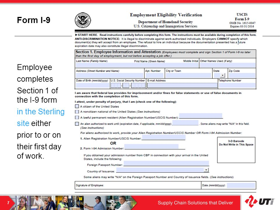 I-9 and E-Verify Training - ppt video online download