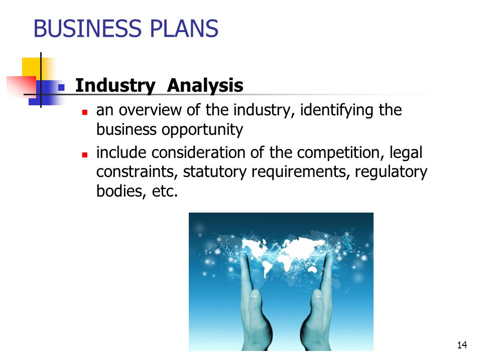justification of opportunity in a business plan