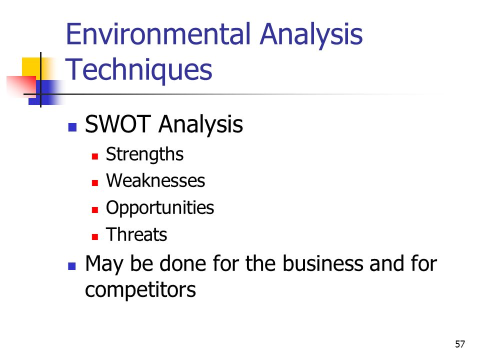 business environment analysis business plan