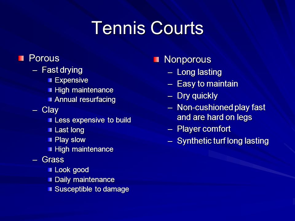 tennis courts a construction and maintenance manual pdf