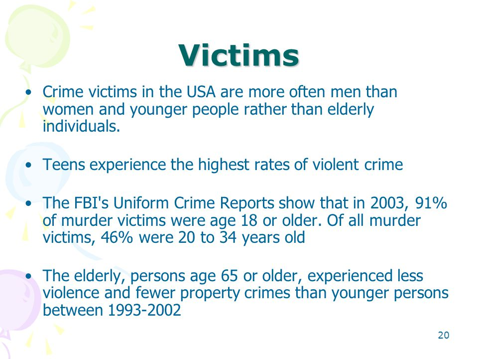 uniform crime report summary