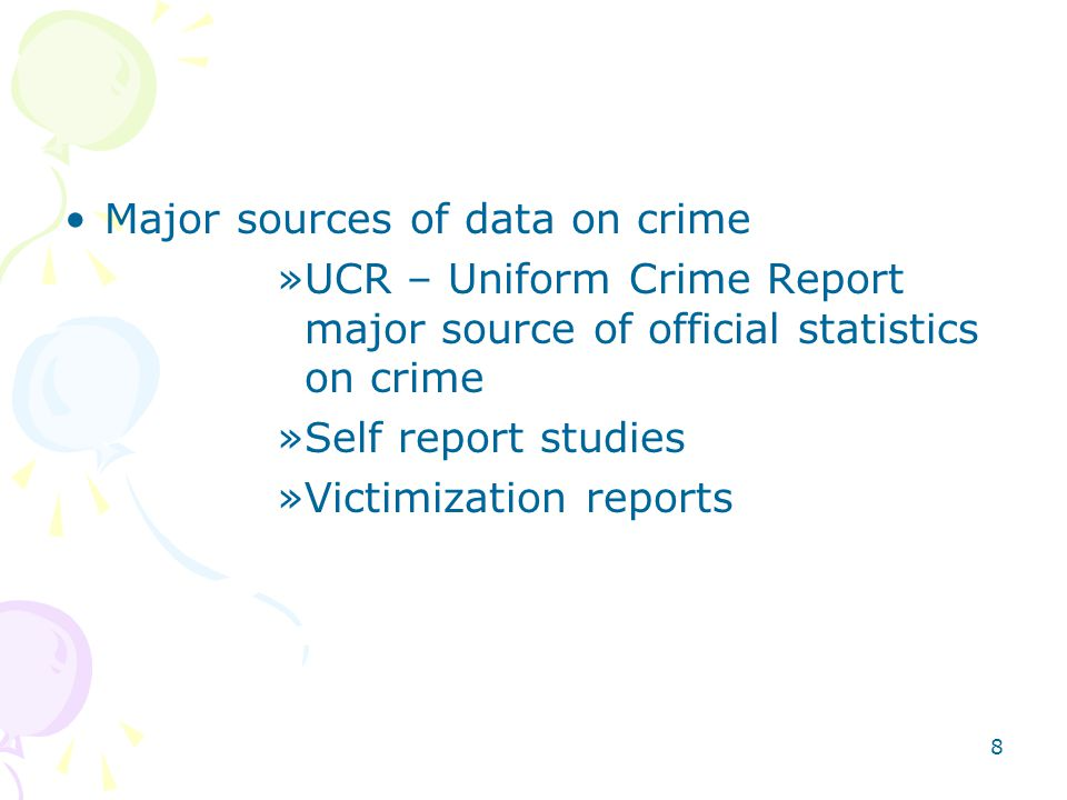 uniform crime data report 2003 uniform crime report all of the following links are in adobe pdf format  domestic violence, hate crime, leoka data domestic violence state totals.