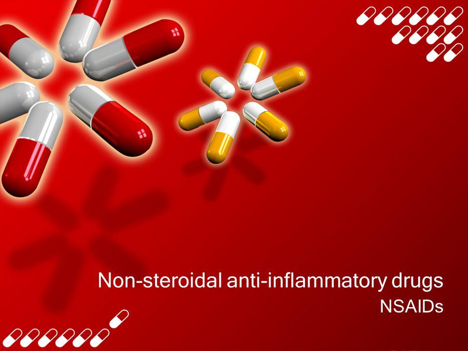 define non steroidal anti-inflammatory