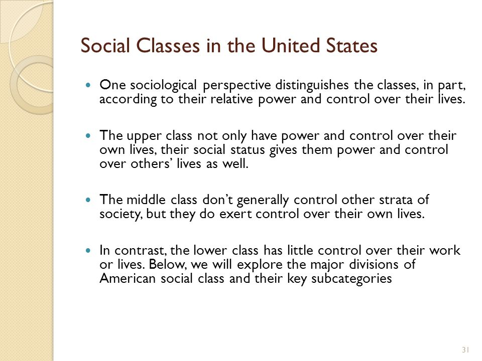 social classes in the united states essay Social class in the united states it is frequent that people living in the united states prefer to think that we are a nation that no longer has social classes that all people are much better off than they were one hundred years ago.
