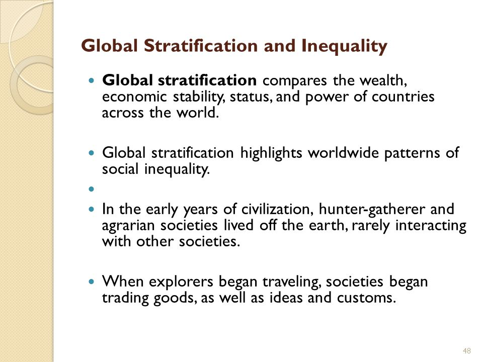 social stratification and inequality pdf