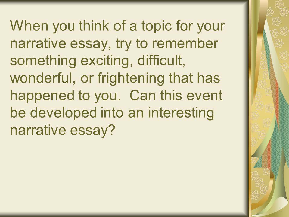 descriptive essay my life