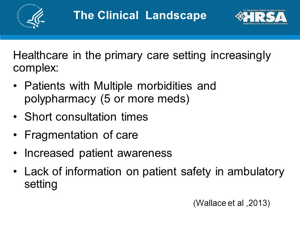 Challenges in healthcare landscape
