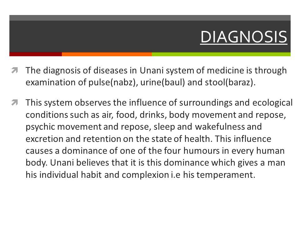 diagnosis of diseases