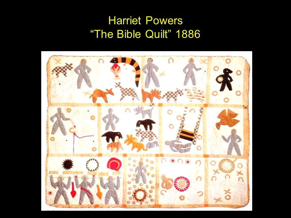 Embroidered Quilts. - ppt video online download : harriet powers bible quilt - Adamdwight.com