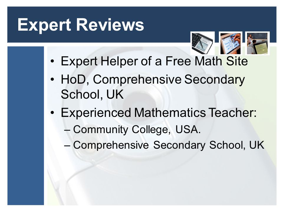online collaborative learning for mathematics education ppt  expert reviews expert helper of a math site