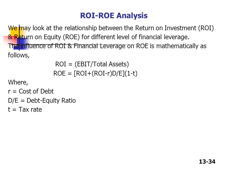 relationship between debt and value of the firm