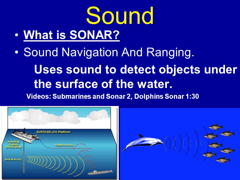 Sound waves and their uses
