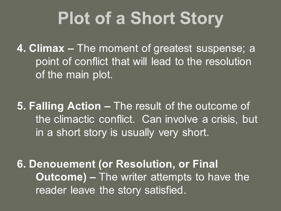 short story the decisive moment It's rare for a short story published in the back of the new yorker to  mistreated, and underestimated that is, until the decisive moment approaches, and .