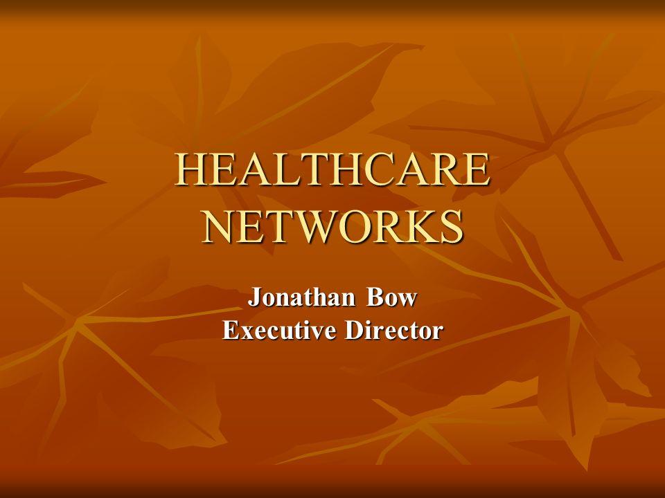 Jonathan Bow Executive Director