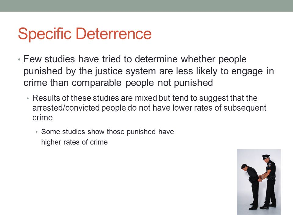 deterrence and rational choice theory of In this article, we combine the rational choice and legal socialization frameworks into an integrated, developmental model of criminal activity this integrated model may be found in figure 1  the model assumes that individuals bring with them a stock of personal and vicarious experiences with regard to deterrence and legal socialization.