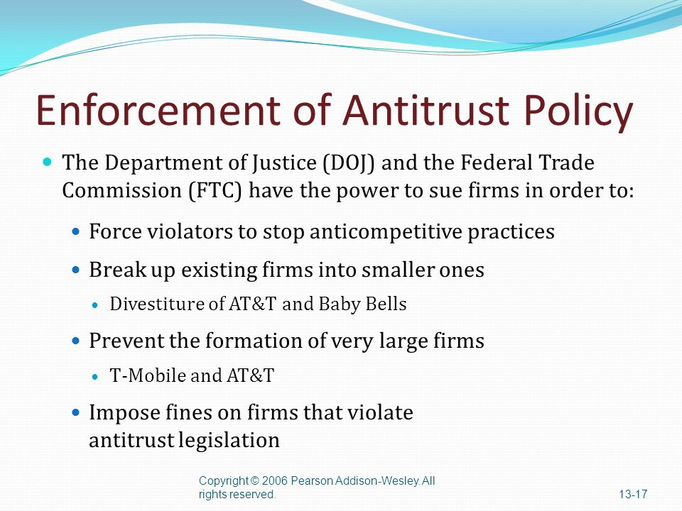 Antitrust: Cartel and Federal Trade Commission - Part 2