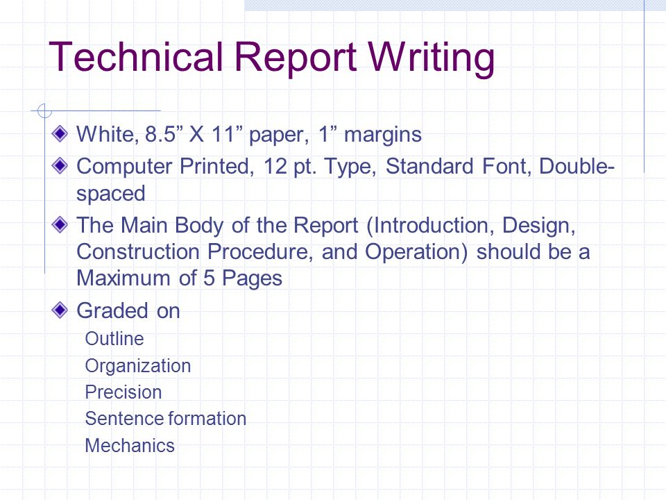 hints on writing technical papers Helpful hints technical writing is direct, informative, clear  scientific papers and presentations san diego, ca: academic press 22.