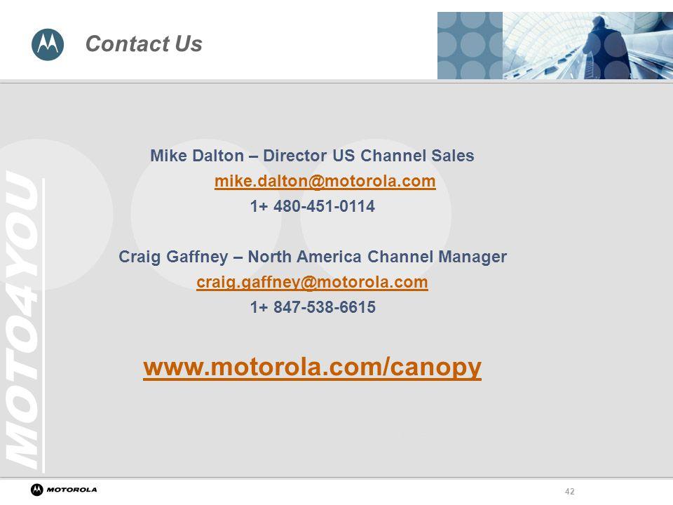 .motorola.com/canopy Contact Us  sc 1 st  SlidePlayer & Motorola Canopy Wireless Broadband Platform - ppt video online ...