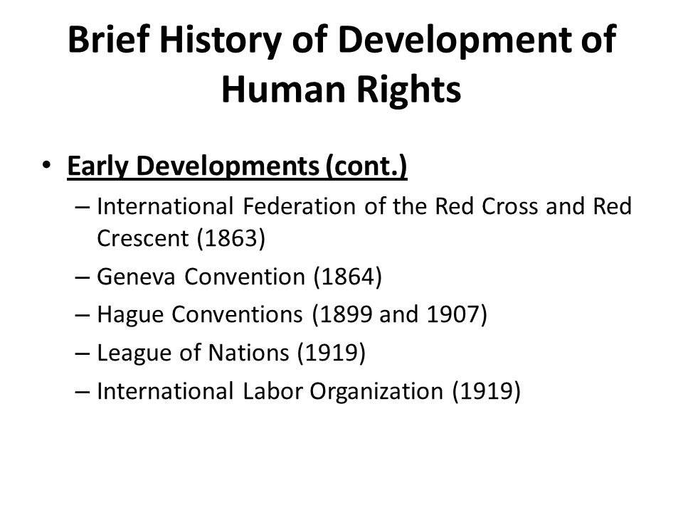 the origins of human rights We present a summary of the history of human rights documents including the bill of rights, magna carta, declaration of rights and man, and english bill of rights.