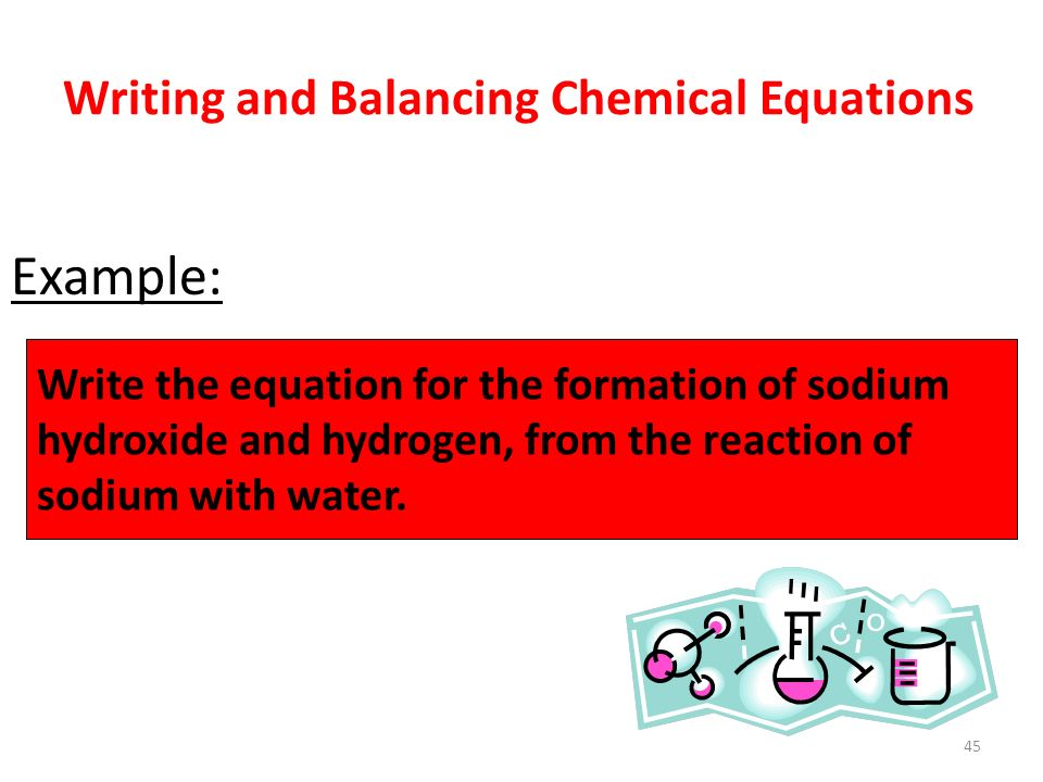 1: Writing and Balancing Chemical Equations