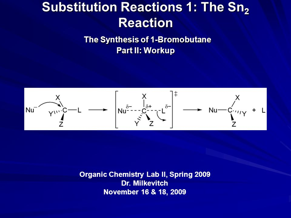 the reaction of butanols with hydrobromic acid lab report Operational organic chemistry: a problem-solving approach to the laboratory  for sophomore-level organic lab  the reaction of butanols with hydrobromic acid.