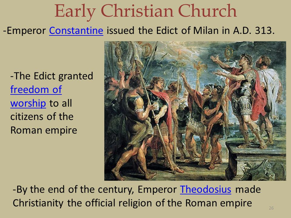 Christianity the roman empire essay