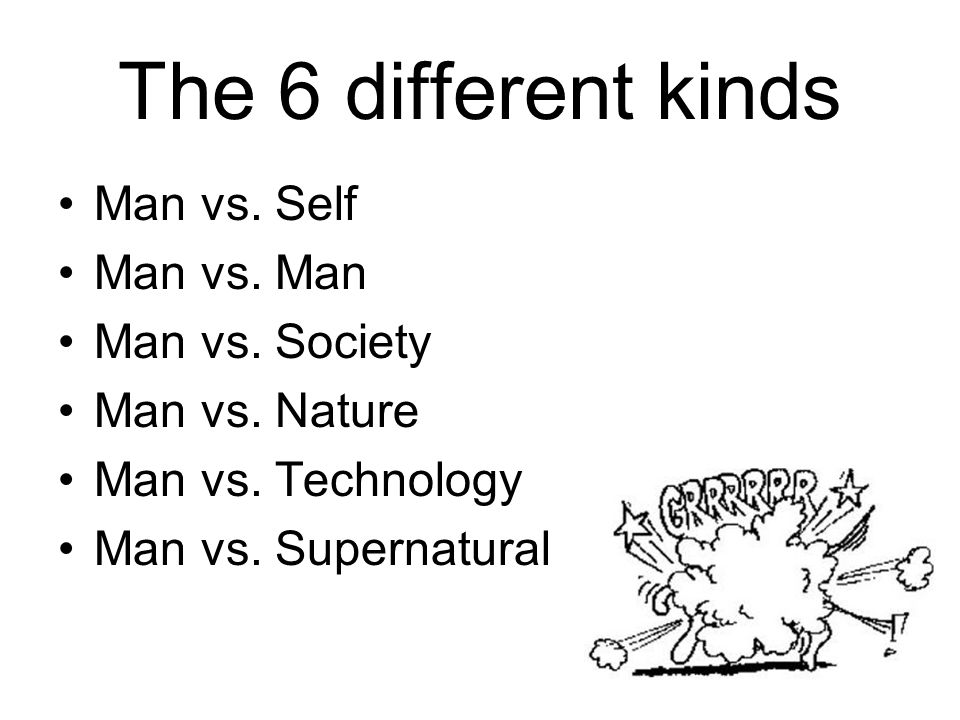 man versus technology Find external & internal conflict with types of conflict in the literary conflict lesson plan: man vs man, man vs man vs nature, man vs society, man vs self, and man vs technology storyboard that is the perfect way to engage high school ela students, and teach them to identify types.