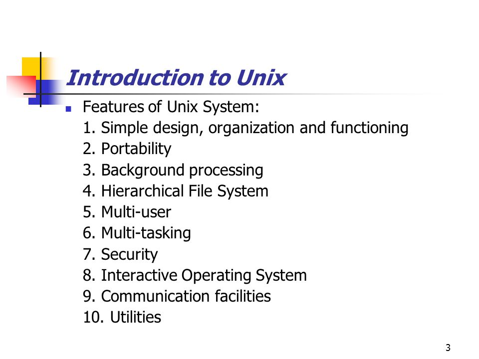 Protection scheme in unix