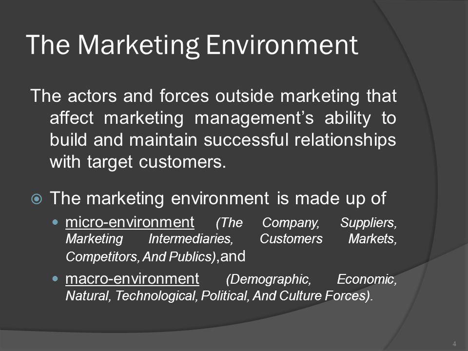 micro and macro environmental factors of virgin group Get an answer for 'what are the environmental factors that affect the environmental factors for a company or an in each of these group are.
