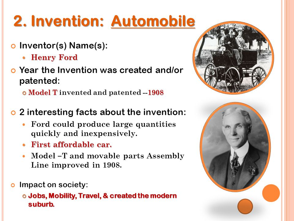 Start of Inventions For: Day 2 - ppt video online download