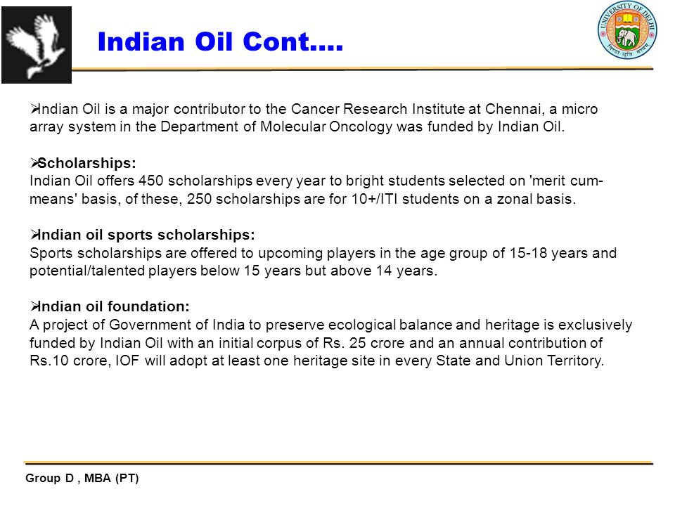 Indian Oil Cont….