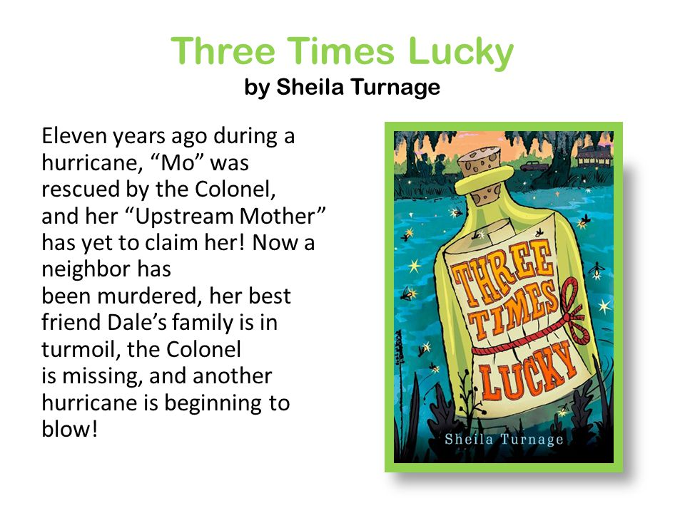 Why is mo three times lucky cluber three times lucky by sheila turnage fandeluxe