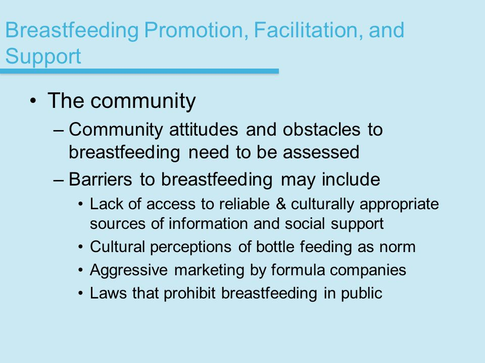 breastfeeding and the wic program essay The wic program promotes breastfeeding as not only the best nutritional source for infants,  16_2015 wic annual report_final.