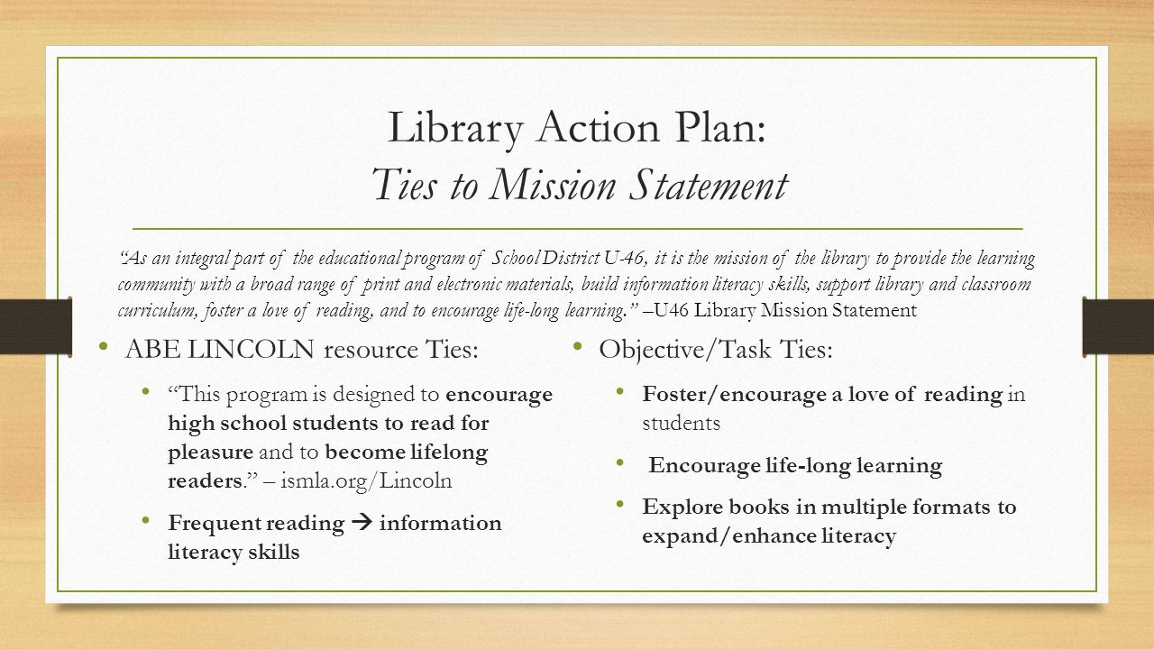 School Library Mission Statement Examples Image Collections