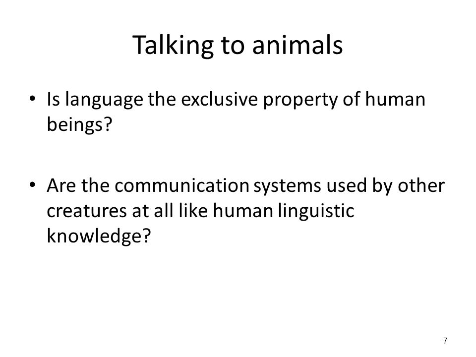 properties of human language Properties of human language kuiper and allan chapter 11-13 language is a code human language is a code symbols syntax of symbols system an elementary code: traffic .