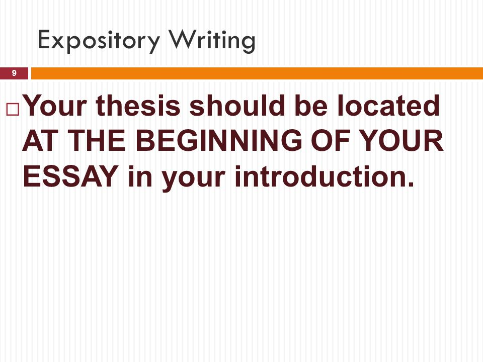 Writing a Thesis and Making an Argument | History