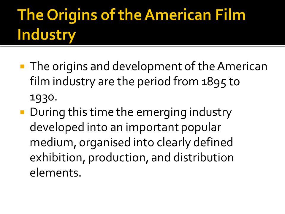 the american film industry essay