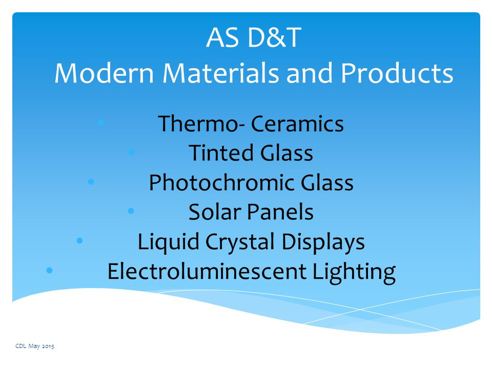 AS Du0026T Modern Materials and Products  sc 1 st  SlidePlayer & AS Du0026T Modern Materials and Products - ppt video online download