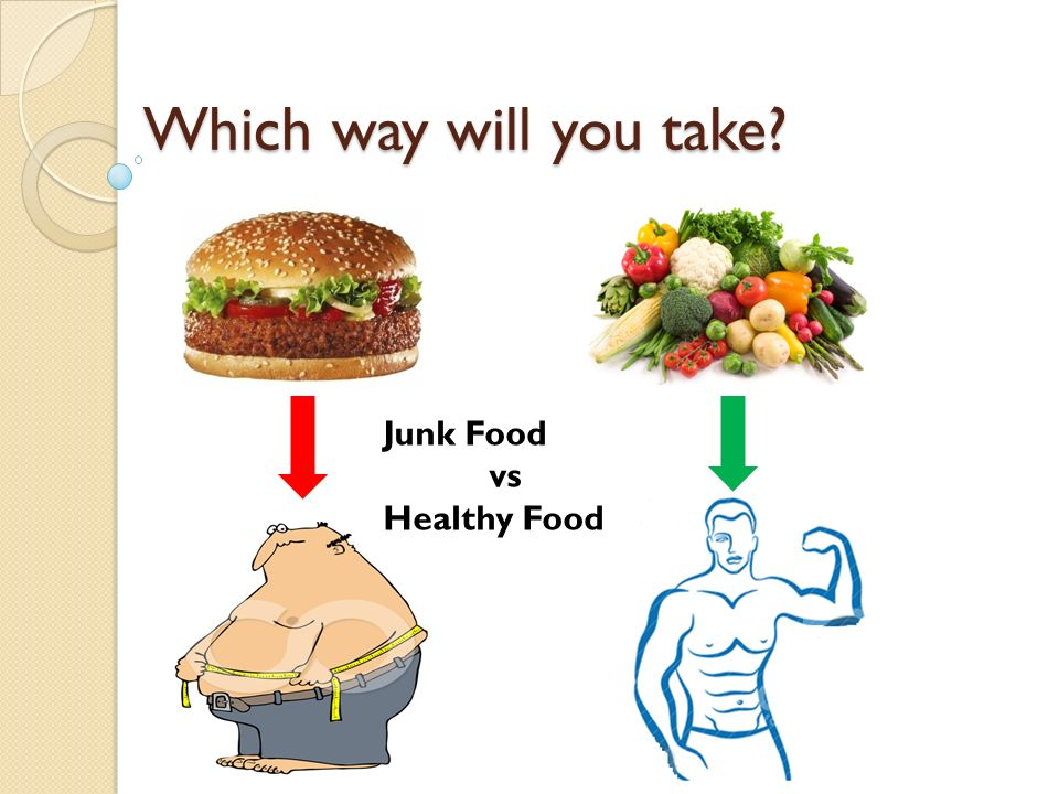 Healthy Food vs. Fast Food