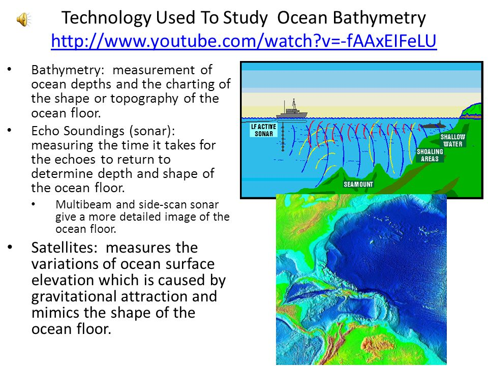 Ocean Floor Elevation Data : Exploring the ocean floor pbs ppt video online download